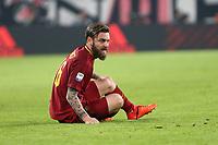 23.12.2017 - Torino  Serie A 18a   giornata  -  Juventus-Roma  nella  foto: Daniele De Rossi  a terra