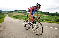 Matej Gnezda at Slovenian National Championships in Road cycling, 178 km, on June 28 2009, in Mirna Pec, Slovenia. (Photo by Vid Ponikvar / Sportida)