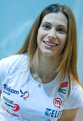 Marija Sestak at fashion show of new jerseys of Slovenian Athletic National Team, on October 28, 2008, in Mercator center Siska, Ljubljana, Slovenia. (Photo by Vid Ponikvar / Sportal Images).