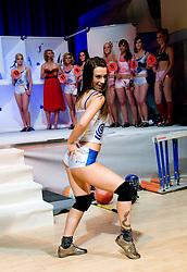 Armina Smajlovic at event Miss Sports of Slovenia, on April 18, 2009, in Festivalna dvorana, Ljubljana, Slovenia. (Photo by Ales Oblak / Sportida)