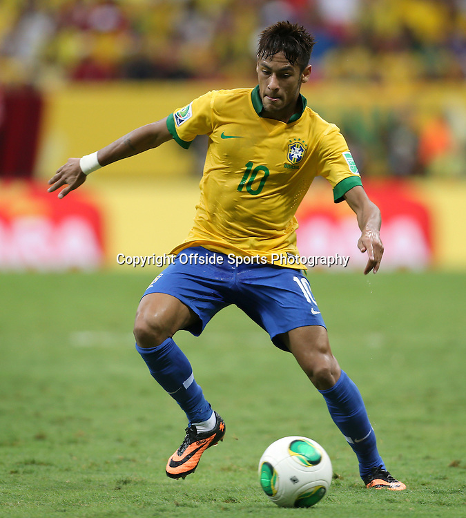 15th June 2013 - FIFA Confederations Cup 2013 - Brazil v Japan - Neymar of Brazil - Photo: Simon Stacpoole / Offside.