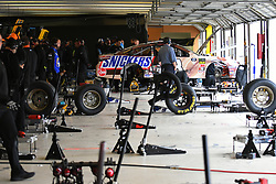 February 23, 2019 - Hampton, GA, U.S. - HAMPTON, GA - FEBRUARY 23: The garage area during practice for the Monster Energy Cup Series QuikTrip Folds of Honor 500 on February 23, 2019, at Atlanta Motor Speedway in Hampton, GA.(Photo by Jeffrey Vest/Icon Sportswire) (Credit Image: © Jeffrey Vest/Icon SMI via ZUMA Press)