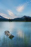 Sparks Lake, Deshutes National Forest, Oregon Cascades