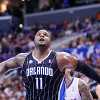 06 January 2014: Orlando Magic power forward Glen Davis (11) is seen during the Los Angeles Clippers 101-81 victory over the Orlando Magic at the Staples Center, Los Angeles, California, USA.