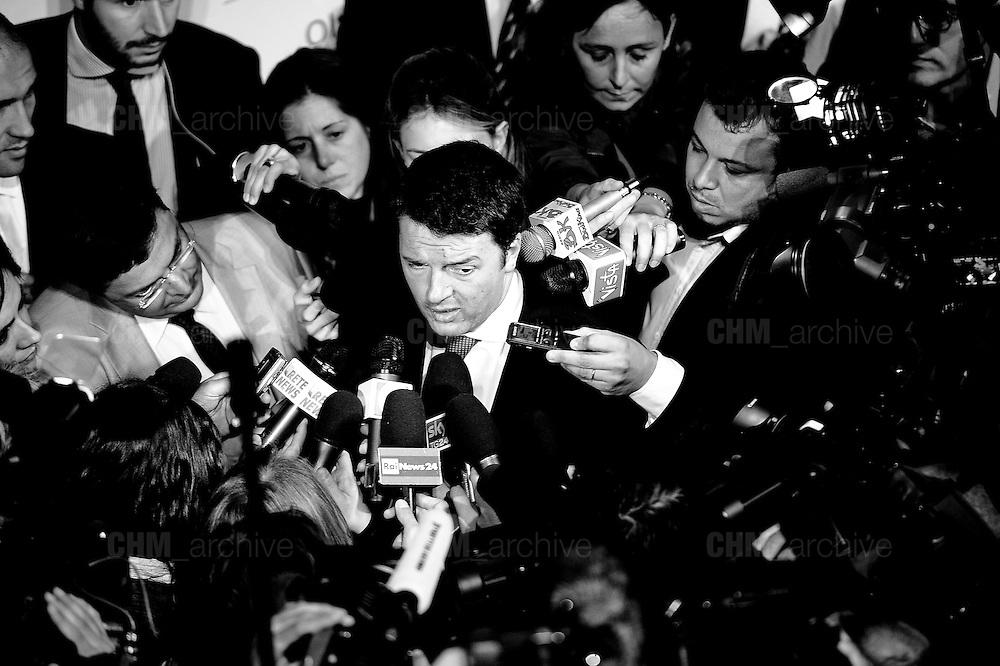Matteo Renzi.<br /> Roma, 30 maggio  2013. Daniele Stefanini /  Oneshot