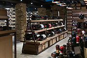 London, England, UK, February 5 2018 - At Hedonism Wines, a wines and liquor shop in the Mayfair area, owned by Russian billionaire Yevgeny Chichvarkin.