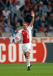 24-08-2005 VOETBAL: AJAX-BRONDBY: CHAMPIONS LEAGUE: AMSTERDAM<br /> <br /> <br /> <br /> ©2005-www.fotohoogendoorn.nl