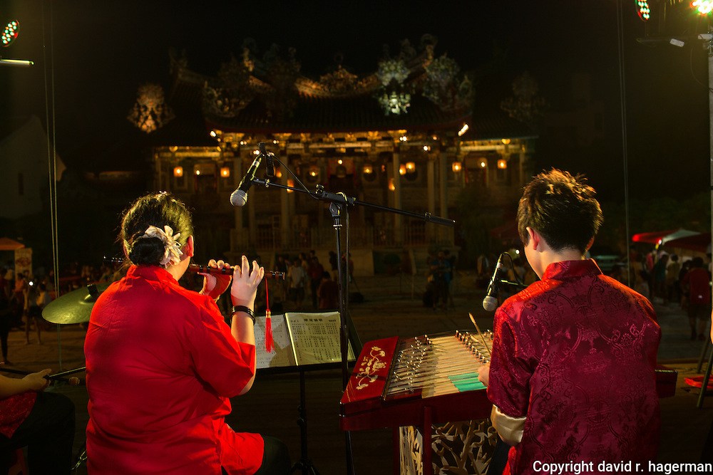 performers at the Khoo Kongsi