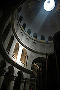 Church of the Holy Sepulchre on Holy Saturday, Old City Jerusalem, Israel