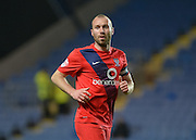 York City midfielder Russell Penn during the Sky Bet League 2 match between Oxford United and York City at the Kassam Stadium, Oxford, England on 1 March 2016. Photo by Adam Rivers.
