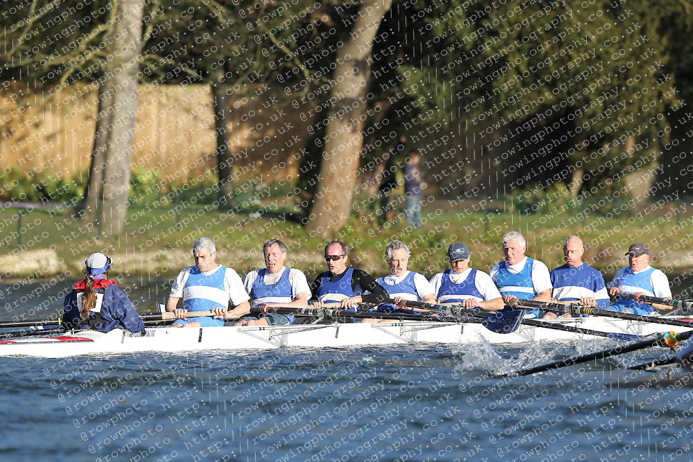 2012.02.25 Reading University Head 2012. The River Thames. Division 2. BTC Southampton MasF 8+