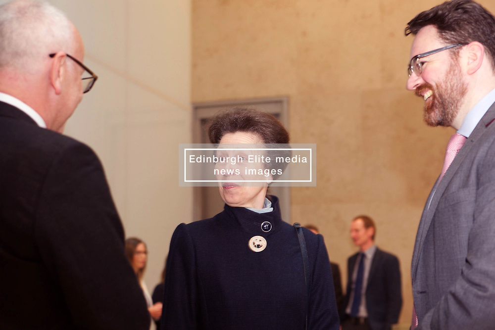 Princess Royal meets staff at official opening of Standard Life HQ in St Andrew Square, Edinburgh 10042018 pic by Terry Murden @edinburghelitemedia 07971 686038
