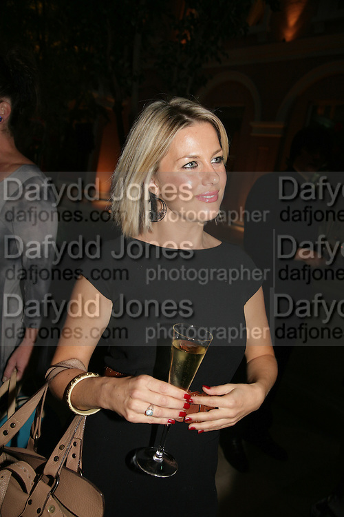 Anahita Resort launch party. Wallace Collection. London. 12 September 2007. ( Photo by Dafydd Jones)  Georgina Bouzova -DO NOT ARCHIVE-© Copyright Photograph by Dafydd Jones. 248 Clapham Rd. London SW9 0PZ. Tel 0207 820 0771. www.dafjones.com.