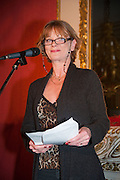SAMANTHA BOND, The Literary Review Bad Sex fiction award 2012. The In and Out Club, 4 St. james's Sq. London. 4 December 2012