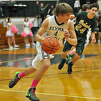 2.22.2014 Ursuline at Elyria Catholic Boys Varsity Basketball