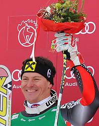 21.01.2011, Hahnenkamm, Kitzbuehel, AUT, FIS World Cup Ski Alpin, Men, Super G, im Bild // Ivica Kostelic (CRO)  // during the men super g race at the FIS Alpine skiing World cup in Kitzbuehel, EXPA Pictures © 2011, PhotoCredit: EXPA/ S. Trimmel