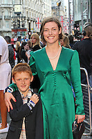 LONDON - JULY 10: Camilla Rutherford attended a special 'Great British Premiere' to mark the re-release of the 1981 film 'Chariots Of Fire' at the Empire Cinema Leicester Square, London, UK. July 10, 2012. (Photo by Richard Goldschmidt)