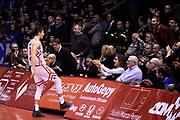 Candi Lorenzo <br /> Grissin Bon Reggio Emilia - Germani Brescia<br /> Lega Basket Serie A 2018/2019<br /> Reggio Emilia, 27/01/2019<br /> Foto A.Giberti / Ciamillo - Castoria