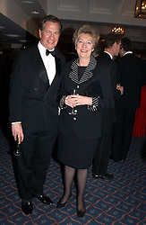 MR & MRS MICHAEL PORTILLO MP at the 2004 Whitbread Book Awards held at The Brewery, Chiswell Street, London EC1 on 25th January 2005.<br />
