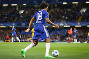 Loïc Rémy during the Champions League match between Chelsea and Maccabi Tel Aviv at Stamford Bridge, London, England on 16 September 2015. Photo by Andy Walter.