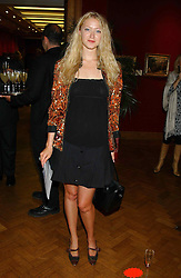 Actress SIOBHEN HEWLETT daughter of Donald Hewlett at a private view and auction of a collection of paintings, drawings and doodles by well known personalities to mark the Book launch of Ackroyd's Ark in Christie's, 8 King Street, St.James's, London on 20th September 2004 in aid of Tusk Trust.<br /><br />NON EXCLUSIVE - WORLD RIGHTS