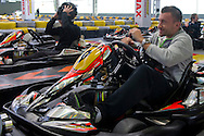 Michal Przysiezny of Poland while GoKarts Racing on F1 Karting Track four days before the BNP Paribas Davis Cup 2014 between Poland and Croatia in Warsaw on March 31, 2014.<br /> <br /> Poland, Warsaw, March 31, 2014<br /> <br /> Picture also available in RAW (NEF) or TIFF format on special request.<br /> <br /> For editorial use only. Any commercial or promotional use requires permission.<br /> <br /> Mandatory credit:<br /> Photo by © Adam Nurkiewicz / Mediasport