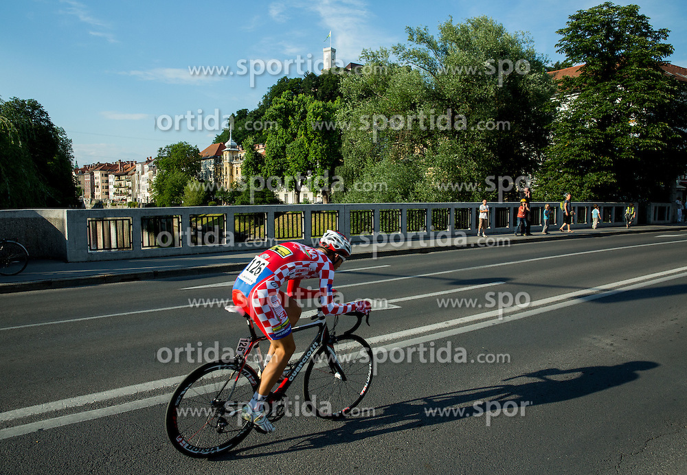 SIROL Endi (Croatia) of Meridiana Kamen Team competes during Stage 1 of 22nd Tour of Slovenia 2015 - Time Trial 8,8 km cycling race in Ljubljana  on June 18, 2015 in Slovenia. Photo by Vid Ponikvar / Sportida
