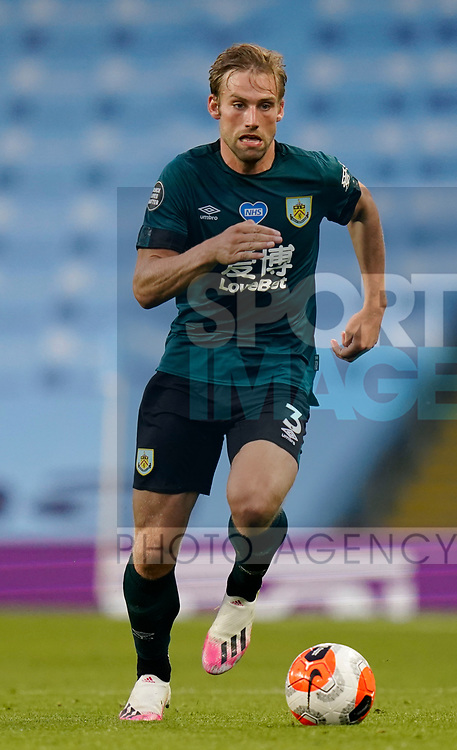 Charlie Taylor of Burnley during the Premier League match at the Etihad Stadium, Manchester. Picture date: 22nd February 2020. Picture credit should read: Andrew Yates/Sportimage