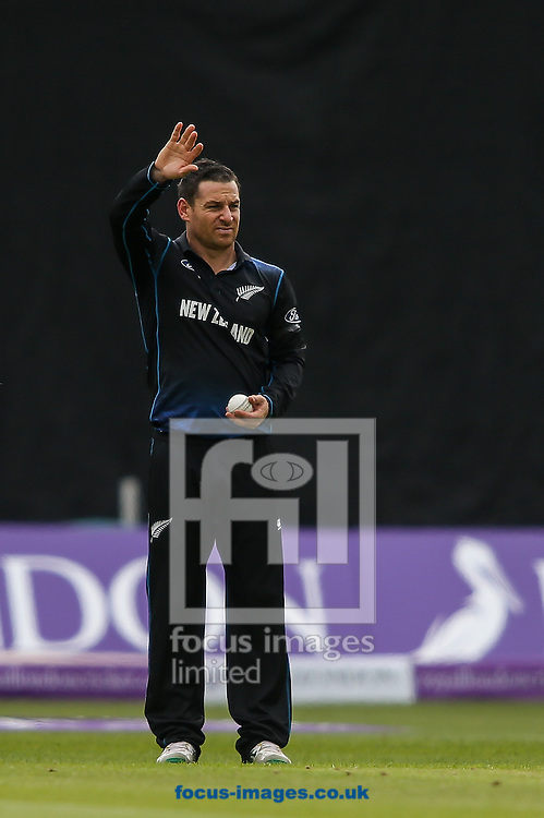 Nathan McCullum of New Zealand during the Royal London One Day Series match at Edgbaston, Birmingham<br /> Picture by Andy Kearns/Focus Images Ltd 0781 864 4264<br /> 09/06/2015
