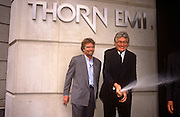 Richard Branson publicises the sale of his Virgin Music business to Thorn EMI, in June 1992, London England. Virgin Records was sold by Branson to Thorn EMI in June 1992 for a reported US$1 billion (around £560 million).