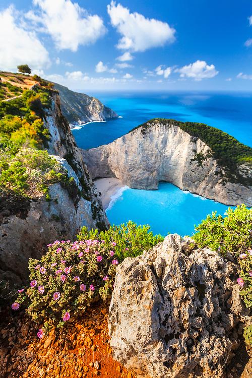Shipwreck gulf, Zakynthos, Greece