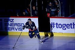 Alexandre Bolduc of KHL Medvsecak Zagreb during KHL League ice hockey match between KHL Medvescak Zagreb and CSKA Moscow, on November 16, 2015 in Dvorana Sportova, Zagreb, Croatia. (Photo By Matic Klansek Velej / Sportida)