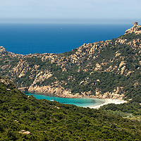 As we were driving from Filitosa to Bonifacio we noticed this wonderful turquoise bay.