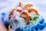 Dry Ice Shrimp Cocktail