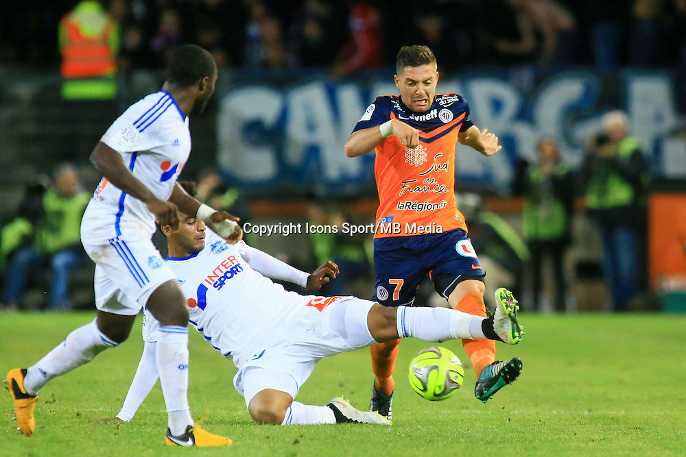 Anthony MOUNIER - 09.01.2015 - Montpellier / Marseille - 20eme journee de Ligue 1<br />
