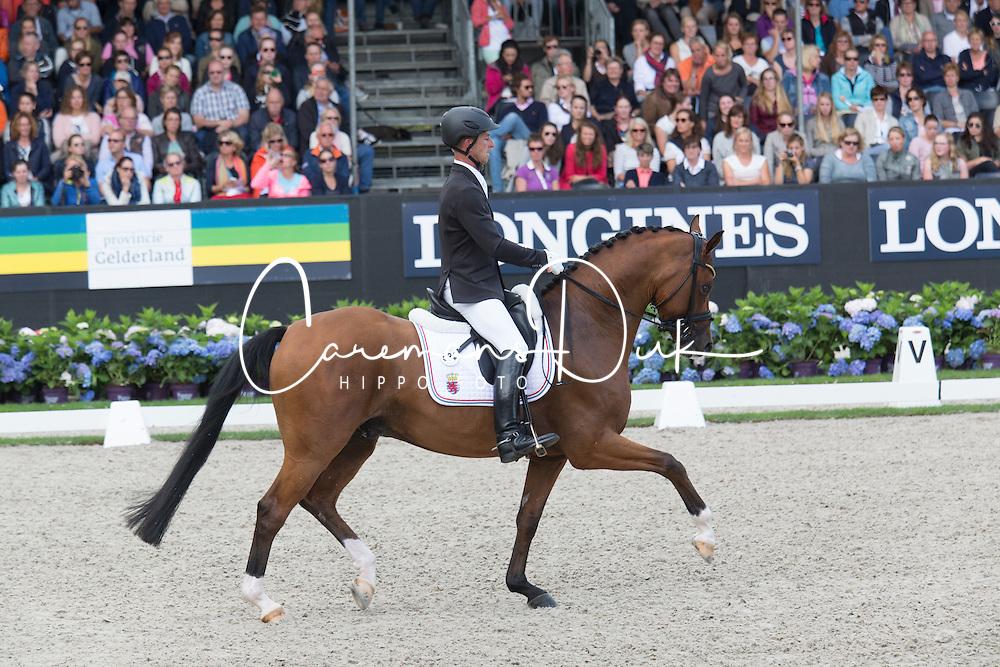 Schulz Sascha, LUX, Quel Filou OLD<br /> World Championship Young Dressage Horses <br /> Ermelo 2016<br /> &copy; Hippo Foto - Leanjo De Koster<br /> 30/07/16