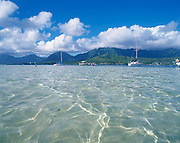 Kaneohe Bay, Windward Oahu, Oahu, Hawaii, USA<br />