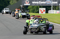 #57 Alan Gower Caterham Supersport during the ITC Compliance Caterham Supersport Championship at Oulton Park, Little Budworth, Cheshire, United Kingdom. August 13 2016. World Copyright Peter Taylor/PSP.