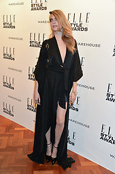 CARA DELEVINGNE at the 17th Elle Style Awards 2014 in association with Warehouse held at One Embankment, 8 Victoria Embankment, London on 18th February 2014.
