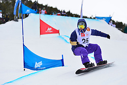 World Cup SBX, MONTAGGIONI Maxime, FRA at the 2016 IPC Snowboard Europa Cup Finals and World Cup
