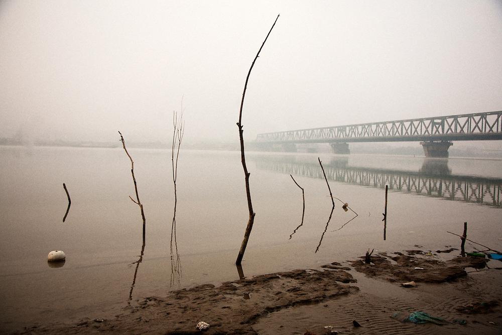 The Danube River across the Pancevo Bridge from central Belgrade, Serbia ..Matt Lutton for the Financial Times.