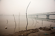 The Danube River across the Pancevo Bridge from central Belgrade, Serbia ..Matt Lutton for the Financial Times.