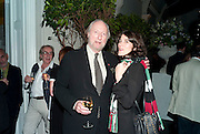 ED VICTOR; BELLA FREUD, Party for Perfect Lives by Polly Sampson. The 20th Century Theatre. Westbourne Gro. London W11. 2 November 2010. -DO NOT ARCHIVE-© Copyright Photograph by Dafydd Jones. 248 Clapham Rd. London SW9 0PZ. Tel 0207 820 0771. www.dafjones.com.