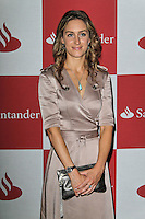 LONDON - JUNE 28: Amy Williams attended The London Grand Prix, a special event to premiere a short film that imagines how a race around London's streets might look. The Royal Automobile Club, Pall Mall, London, UK. June 28, 2012. (Photo by Richard Goldschmidt)