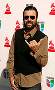 Jarabe de Palo attends the 10th Annual Latin Grammy Awards at the Mandalay Bay Hotel in Las Vegas, Nevada on November 5, 2009.