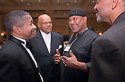 18249Ohio University Black Alumni Reunion: Inaugural Templeton-Blackburn Alumni Gala ...Dr. McDavis, unknown, Huey  Ball '67, Leon Hogg '68