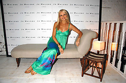 TV presenter HANNAH SANDLING at a party to celebrate the launch of Jo Malone's new White Jasmine & Mint Cologne held at Number 1 The Piazza, Covent Garden, London on 12th September 2007.<br />