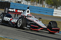 Will Power, Sebring test 2/19/2013
