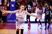 Liompart Pedro<br /> Grissin Bon Pallacanestro Reggio Emilia - Segafredo Virtus Bologna<br /> Lega Basket Serie A 2017/2018<br /> Reggio Emilia, 09/05/2018<br /> Foto A.Giberti / Ciamillo - Castoria