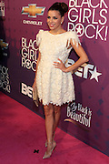 October 13, 2012- Bronx, NY: Actress Eva Longoria at the Black Girls Rock! Awards Red Carpet presented by BET Networks and sponsored by Chevy held at the Paradise Theater on October 13, 2012 in the Bronx, New York. BLACK GIRLS ROCK! Inc. is 501(c)3 non-profit youth empowerment and mentoring organization founded by DJ Beverly Bond, established to promote the arts for young women of color, as well as to encourage dialogue and analysis of the ways women of color are portrayed in the media. (Terrence Jennings)